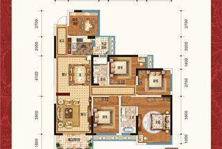 5室2厅2卫  152平米
