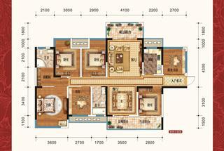 6室2厅2卫  178平米