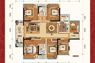 6室2厅2卫  179平米
