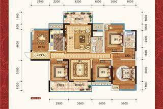 5室2厅2卫  169平米