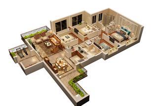 4室2厅2卫  138平米