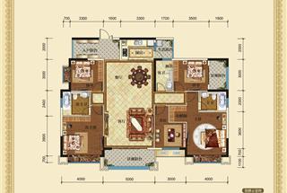 5室2厅2卫  186.53平米
