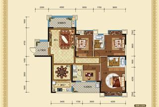 4室2厅3卫  152.83平米