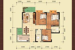 3室2厅2卫  97.53平米