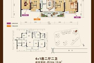 5室2厅2卫  164.19平米