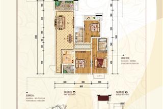 3室2厅2卫  116.57平米