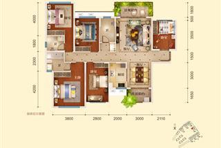 5室2厅2卫  149平米