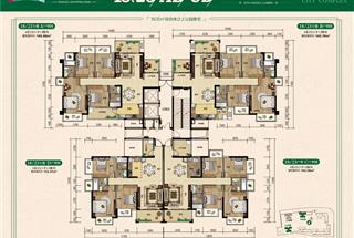 3室2厅2卫  116.2平米