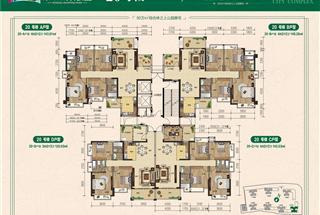 3室2厅2卫  121.92平米