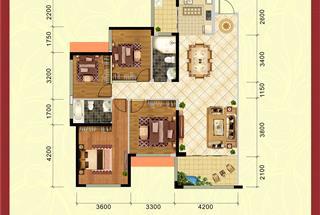 4室2厅2卫  137.44平米