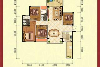 3室2厅2卫  134.15平米