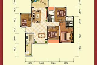4室2厅2卫  125.51平米