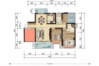 4室2厅2卫  120平米