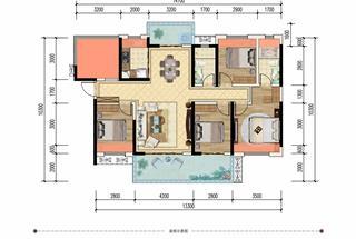 5室2厅2卫  133平米