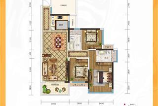 4室2厅2卫  122平米