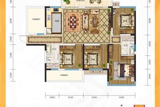5室2厅2卫  158平米