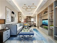【新房装修】92平米现代简约风格设计