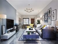87㎡三室两厅北欧风格装修案例