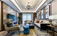 106㎡新中式风格家居装修设计